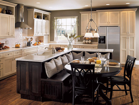 kitchen design banquette